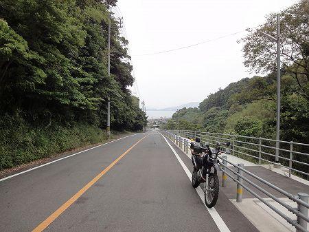 黄波戸峠/県道66号長門油谷線 ...